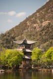 Μαύρη λίμνη δράκων σε Lijiang, Yunnan σε νοτιοδυτικό της Κίνας. Στοκ εικόνες με δικαίωμα ελεύθερης χρήσης