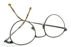 μαύρη ανάγνωση γυαλιών Στοκ φωτογραφία με δικαίωμα ελεύθερης χρήσης