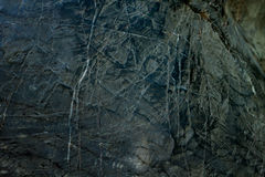 Μαύρη ανασκόπηση βράχου. Στοκ εικόνα με δικαίωμα ελεύθερης χρήσης