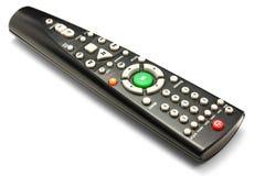 μαύρη απομακρυσμένη TV ελέγχου Στοκ φωτογραφία με δικαίωμα ελεύθερης χρήσης
