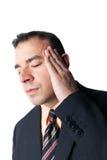 μαύρη απομονωμένη πονοκέφαλος αρσενική ακτίνα μυών ανασκόπησης που εμφανίζει πίεση Χ σκελετών Στοκ φωτογραφία με δικαίωμα ελεύθερης χρήσης