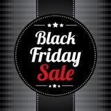 Μαύρη αφίσα πώλησης Παρασκευής Διανυσματική απεικόνιση