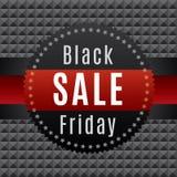 Μαύρη αφίσα πώλησης Παρασκευής Ελεύθερη απεικόνιση δικαιώματος