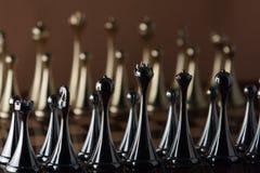 Μαύρη βασίλισσα σκακιού στοκ φωτογραφία