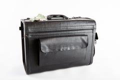 Μαύρη βαλίτσα Στοκ Εικόνες