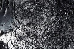 μαύρη βροχή Στοκ Εικόνα