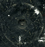 μαύρη γρατσουνισμένη σύστ&alpha διανυσματική απεικόνιση
