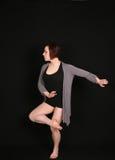 μαύρη γυναίκα χορευτών αν&alph Στοκ Εικόνες