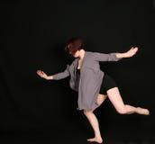 μαύρη γυναίκα χορευτών αν&alph Στοκ Φωτογραφία