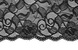 μαύρη δαντέλλα στοκ φωτογραφία