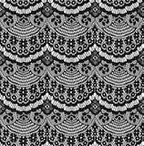 μαύρη δαντέλλα Στοκ Εικόνες