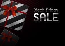Μαύρη διανυσματική απεικόνιση σχεδίου πώλησης Παρασκευής απεικόνιση αποθεμάτων