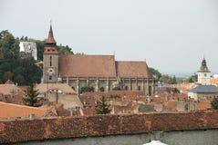 μαύρη εκκλησία fron Ρουμανία bra Στοκ Φωτογραφίες