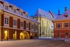 μαύρη εκκλησία Ρουμανία brasov Στοκ Εικόνες