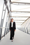 Μαύρη επιχειρηματίας στοκ εικόνες