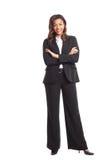 Μαύρη επιχειρηματίας στοκ εικόνα