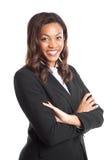 Μαύρη επιχειρηματίας στοκ φωτογραφία με δικαίωμα ελεύθερης χρήσης