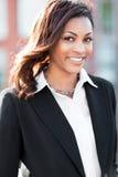 Μαύρη επιχειρηματίας στοκ φωτογραφίες