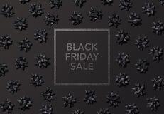 Μαύρη ετικέτα τιμών Παρασκευής για τα πρότυπα πώλησης ή προώθησης Στοκ φωτογραφίες με δικαίωμα ελεύθερης χρήσης