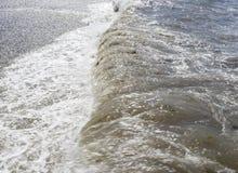 Μαύρη Θάλασσα φυσικά κύματα σύστασης θάλασσας σχεδίου έργου τέχνης Sochi στοκ εικόνες με δικαίωμα ελεύθερης χρήσης