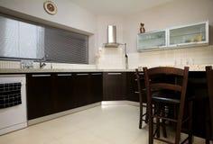 μαύρη ΙΙ κουζίνα στοκ φωτογραφίες με δικαίωμα ελεύθερης χρήσης