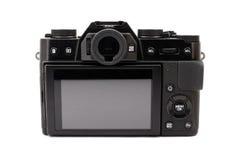 Μαύρη κάμερα Στοκ Φωτογραφίες