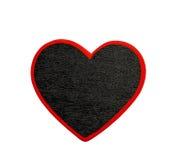 Μαύρη καρδιά Στοκ Εικόνα
