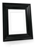 μαύρη κενή εικόνα πλαισίων Στοκ Εικόνα