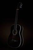 μαύρη κιθάρα Στοκ Εικόνα