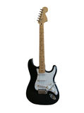 μαύρη κιθάρα Στοκ εικόνα με δικαίωμα ελεύθερης χρήσης