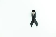 μαύρη κορδέλλα Στοκ Εικόνα