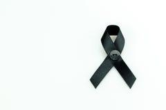 μαύρη κορδέλλα Στοκ Φωτογραφία