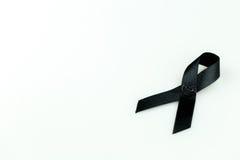 μαύρη κορδέλλα Στοκ φωτογραφία με δικαίωμα ελεύθερης χρήσης