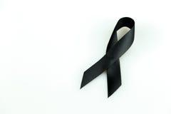 μαύρη κορδέλλα Στοκ Εικόνες