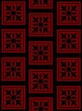 μαύρη κόκκινη ταπετσαρία Διανυσματική απεικόνιση