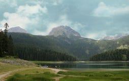 Μαύρη λίμνη Εθνικό πάρκο Μαυροβούνιο Durmitor Στοκ φωτογραφίες με δικαίωμα ελεύθερης χρήσης