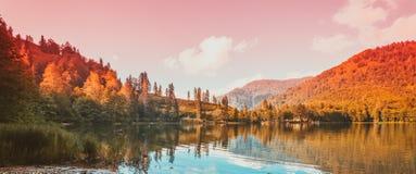 Μαύρη λίμνη σε Artvin Στοκ Φωτογραφίες