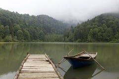 μαύρη λίμνη karagol Στοκ Φωτογραφίες