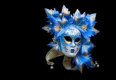 μαύρη μάσκα Βενετός Στοκ Εικόνα