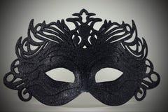Μαύρη μάσκα καρναβαλιού Στοκ εικόνες με δικαίωμα ελεύθερης χρήσης