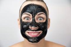 μαύρη μάσκα Στοκ Φωτογραφίες