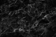 Μαύρη μαρμάρινη σύσταση σε φυσικό που διαμορφώνεται για το υπόβαθρο και το σχέδιο Στοκ φωτογραφία με δικαίωμα ελεύθερης χρήσης