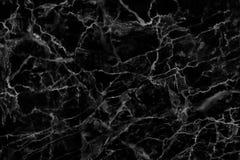 Μαύρη μαρμάρινη σύσταση σε φυσικό που διαμορφώνεται για το υπόβαθρο και το σχέδιο Στοκ φωτογραφίες με δικαίωμα ελεύθερης χρήσης