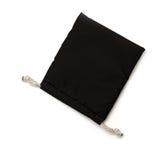 Μαύρη μικρή σακούλα υφάσματος στοκ φωτογραφίες με δικαίωμα ελεύθερης χρήσης