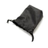 Μαύρη μικρή σακούλα υφάσματος στοκ φωτογραφίες