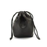 Μαύρη μικρή σακούλα υφάσματος στοκ φωτογραφία με δικαίωμα ελεύθερης χρήσης