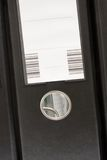 μαύρη μπροστινή ενιαία όψη γρ& Στοκ φωτογραφία με δικαίωμα ελεύθερης χρήσης