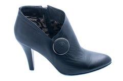 μαύρη μπότα Στοκ Εικόνα