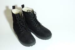 μαύρη μπότα Στοκ Εικόνες