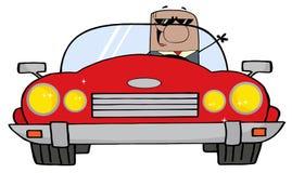 μαύρη οδήγηση επιχειρηματ ελεύθερη απεικόνιση δικαιώματος